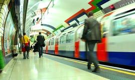 london pod ziemią Obrazy Stock
