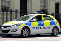 London Police Car Stock Images