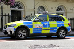 London Police Car Royalty Free Stock Photography