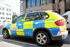 London Police Car Royalty Free Stock Images