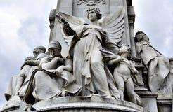 london pomnik Victoria Zdjęcia Royalty Free