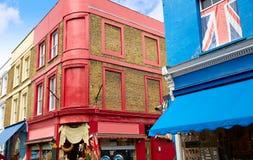 London Portobello road Market in UK stock photo