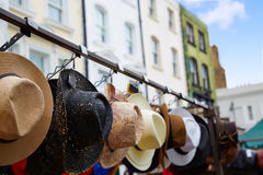 London Portobello road Market vintage magnifying in UK Stock Images