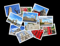 London-Postkarten Stockfoto