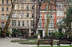 London, Postman's Park Stock Image