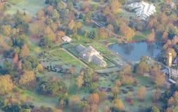 london powietrzny widok Obrazy Royalty Free