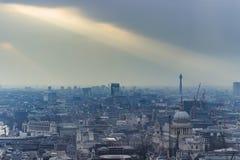 london powietrzny widok Obrazy Stock