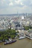 london powietrzny widok Fotografia Stock