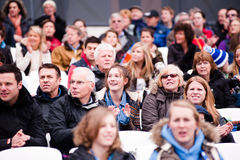London prepares: Olympic test events Royalty Free Stock Photo