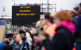 London prepares: Olympic test events Royalty Free Stock Photography