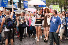 London Pride 2014 Royalty Free Stock Images