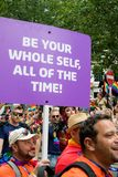 London Pride 50th Aniversary royalty free stock images