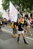 London Pride 50th Aniversary stock image