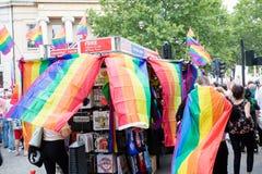 London Pride 50th Aniversary stock photography
