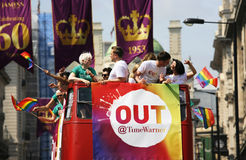 2013, London Pride Royalty Free Stock Images