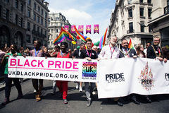 2013, London Pride Royalty Free Stock Image