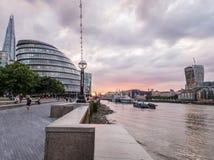 London promenad Royaltyfri Foto