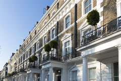 London Property in South kensington Stock Image