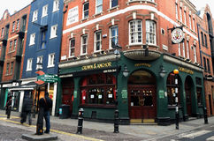 london pub Obraz Stock