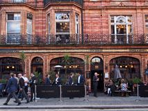 London Pub, Mayfair Royalty Free Stock Photos