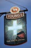 London pub sign Royalty Free Stock Photos