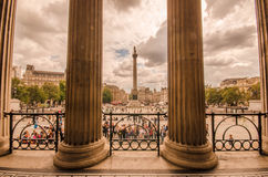 London - Public National Gallery Royalty Free Stock Photography