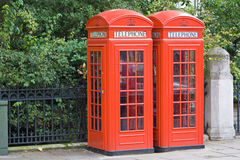 london publiczny telefon Fotografia Stock