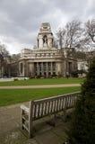 London. Quadrat der Dreiheit-10. Frühling. Stockbild