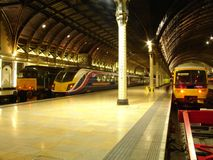 London railway station. Royalty Free Stock Image