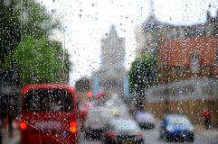 London rain Stock Images