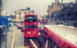 London in rain Royalty Free Stock Image