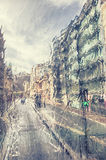 London in rain Royalty Free Stock Photos