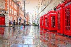 London rain Royalty Free Stock Photography