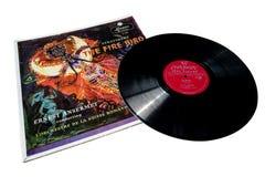 London Records Stravinsky Stock Photo