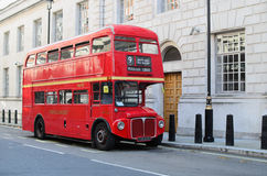 London red bus Stock Image