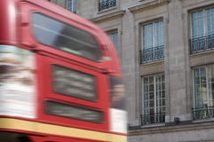 London red bus Royalty Free Stock Photos