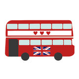 London Red Bus Royalty Free Stock Images