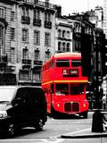 London Red Bus. Taken in Piccadilly Circus Royalty Free Stock Images