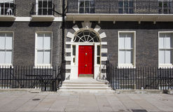 London Red Door Stock Image