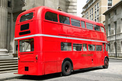 London Red Double Decker Bus Stock Photos