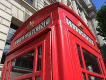 London Red Telephone Booth Royalty Free Stock Photography