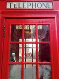 London Red Telephone Booth Stock Images
