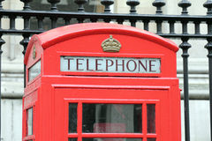 London red telephone box Royalty Free Stock Photography