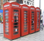 London Red telephone box Royalty Free Stock Photos