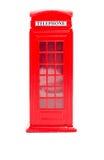 London red telephone box (souvenir) Stock Image