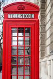 London, red telephone Stock Image