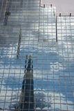 London, reflection of the shard building Royalty Free Stock Photography