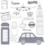 London-Reise Stockfotografie