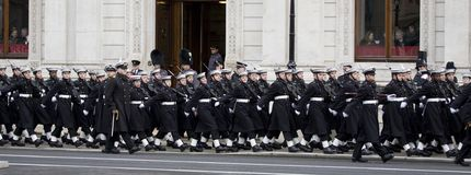 London - Rememberance Parade Royalty Free Stock Images