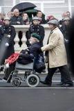 London - Rememberance Parade Stock Photo